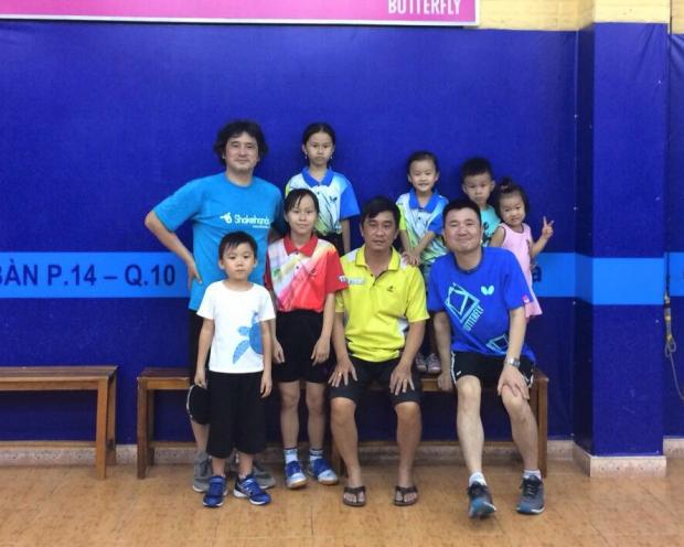 日本卓球界の発展・強化に貢献