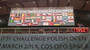 明日からITTFチャレンジシリーズ・ポーランドオープンです。