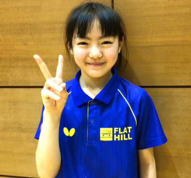 東アジアホープス東京都卓球予選で優勝!