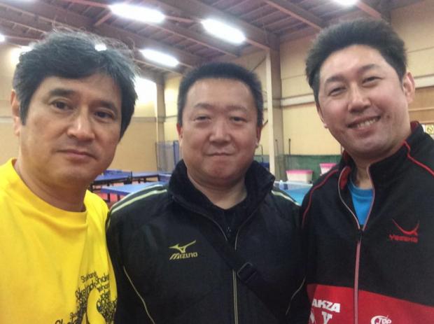 17歳で世界卓球の日本代表になった田中卓也氏(TC岐阜)