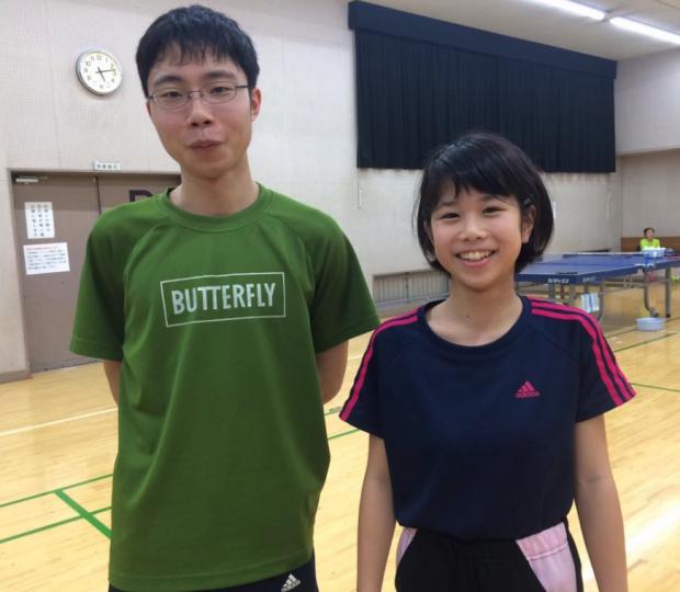 【 東京卓球プリティーガールズ 】 に新しいメンバーが加入