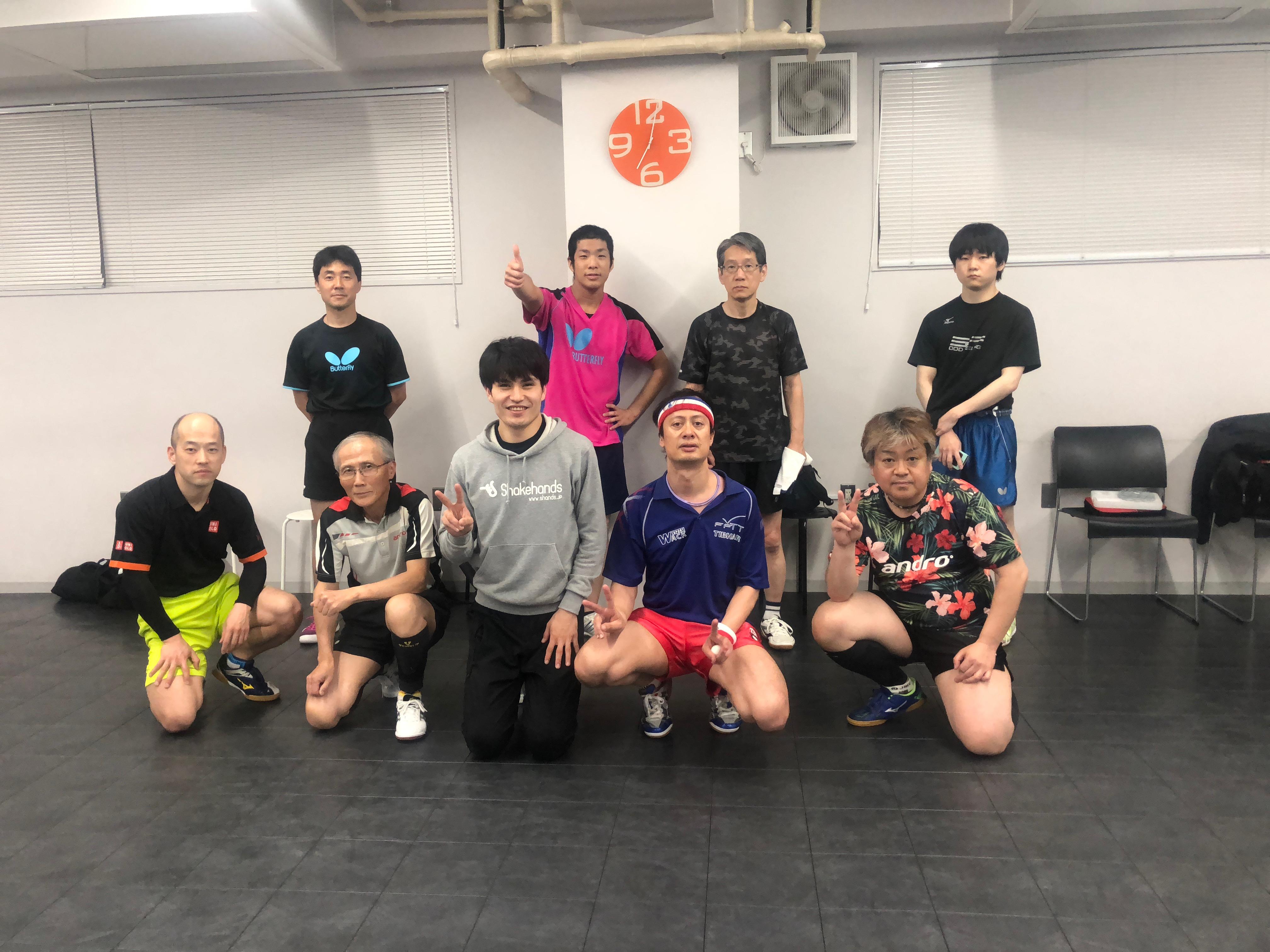 9/18(火)午前【女性限定】レディースダブルスSHリーグ