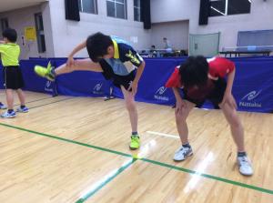 卓球ヤンチャボーイズ秘密の強化練【四股踏み】
