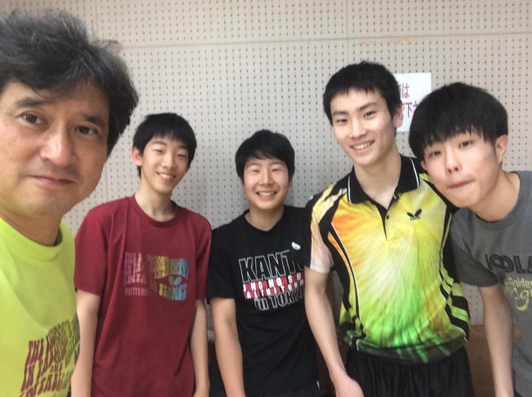 ウチの卓球クラブ恒例【エレベーターゲーム】