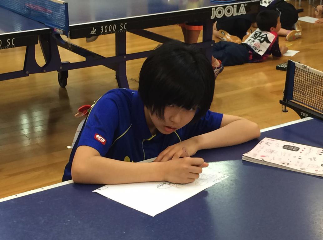 【小学生女子】卓球を根本から考え直す