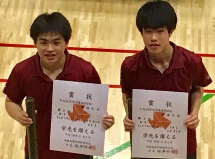 卓球団体・シングルス・ダブルスの代表