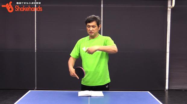 安定した中国卓球を打ち破った張本卓球の秘密 by 平岡義博_表紙
