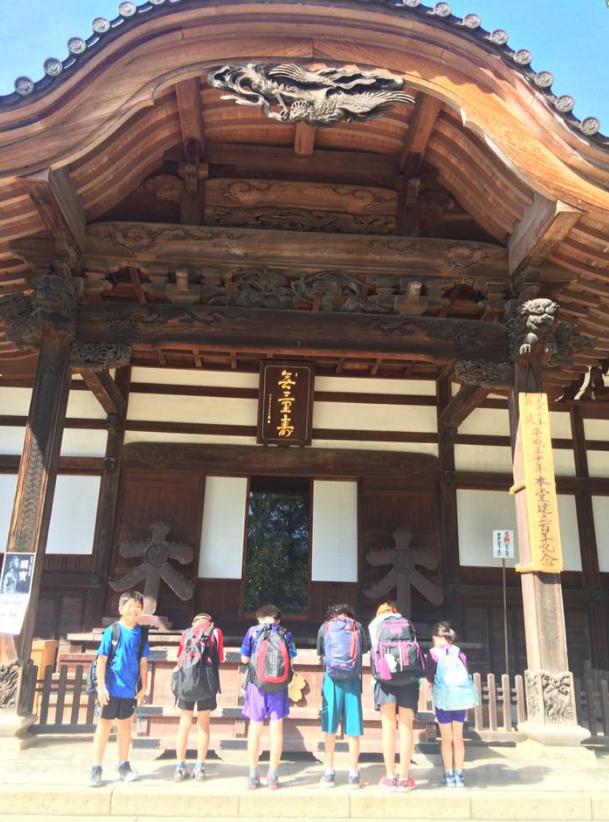 卓球練習の終わりに、深大寺参拝