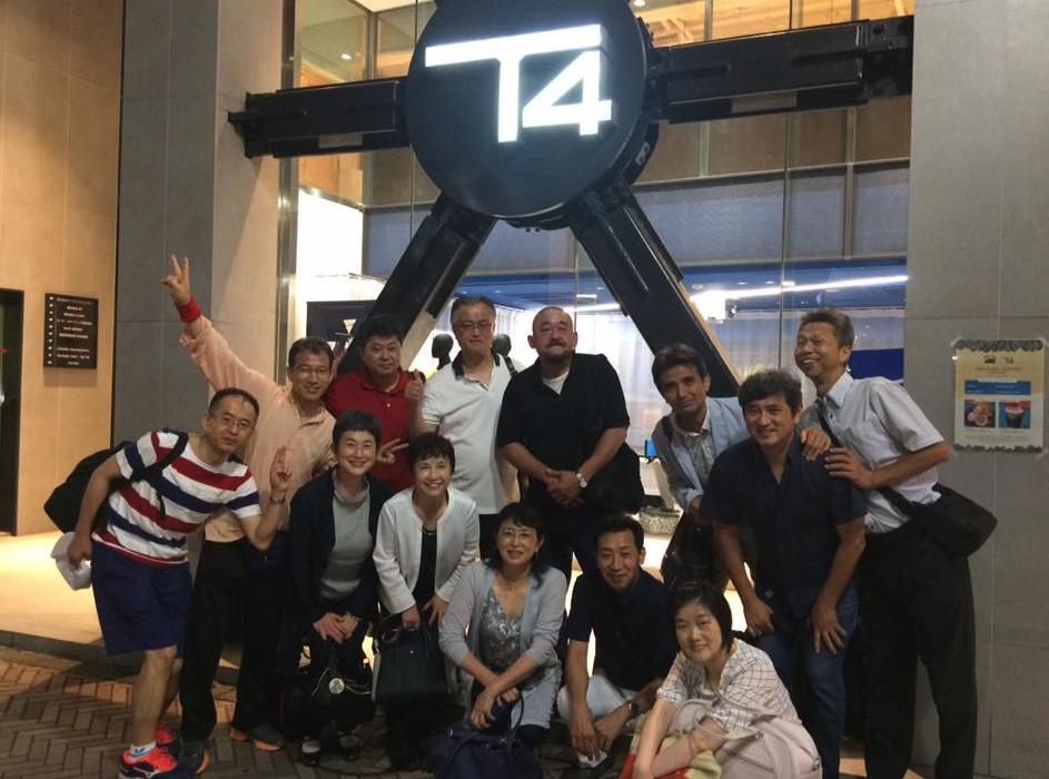あの渋谷【T4】地下室の秘密卓球練習場に潜入