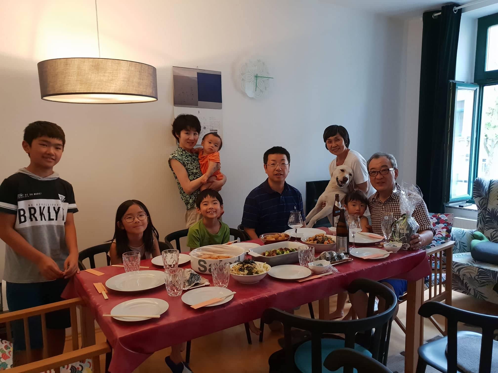 山本さん、奥様、最高の和食をありがとうございました!