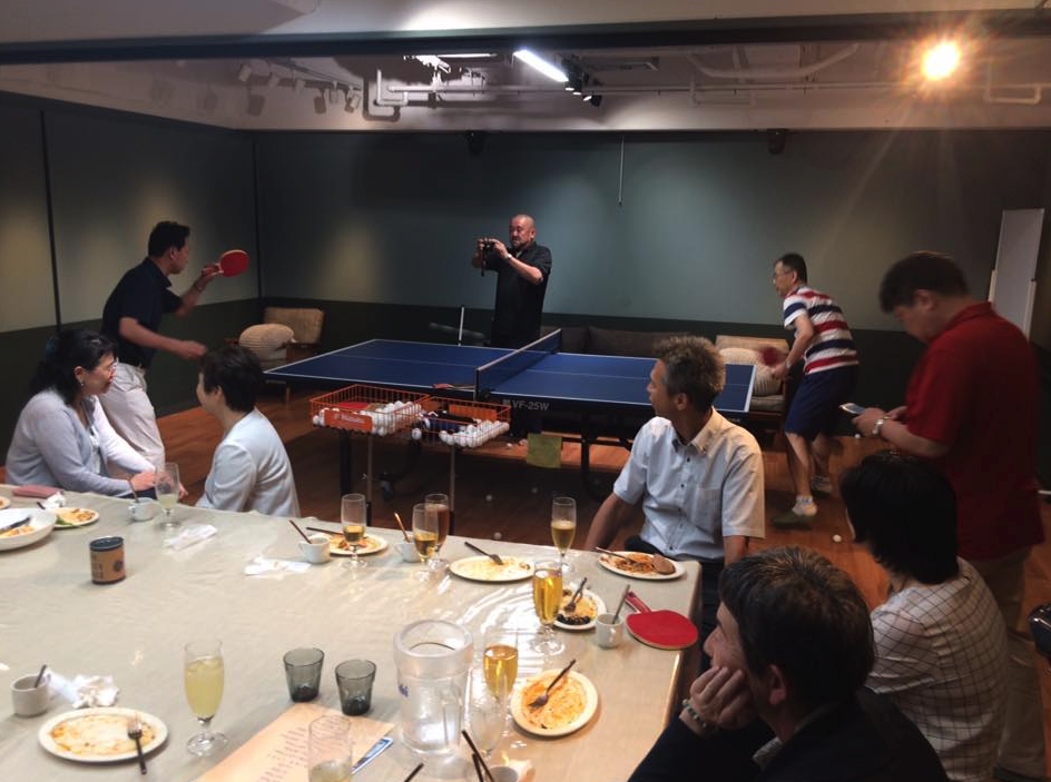 次回は、全日本卓球選手権の時《大阪開催》