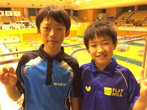関東ホープス卓球大会、トップクラスへ確かな手ごたえ