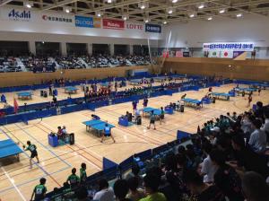 熱気溢れる全日本大学総合卓球大会・インカレ