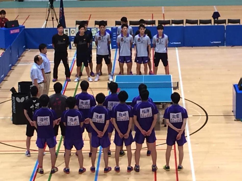 最終日、卓球大学日本一が決まります‼︎