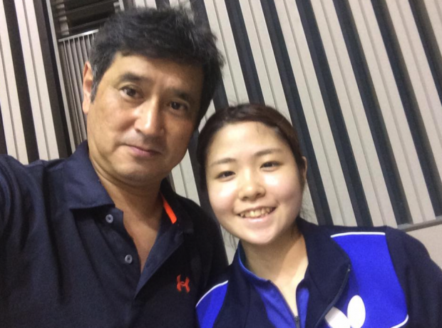 梅村優香選手にご対面。可愛くて、さらに卓球が強い