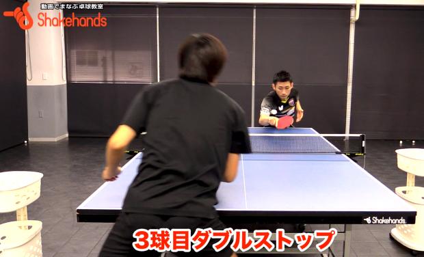 世界のトップ選手が認める上田仁の3球目ダブルストップ_表紙