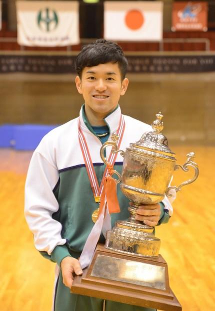 学生日本一!及川選手おめでとう!