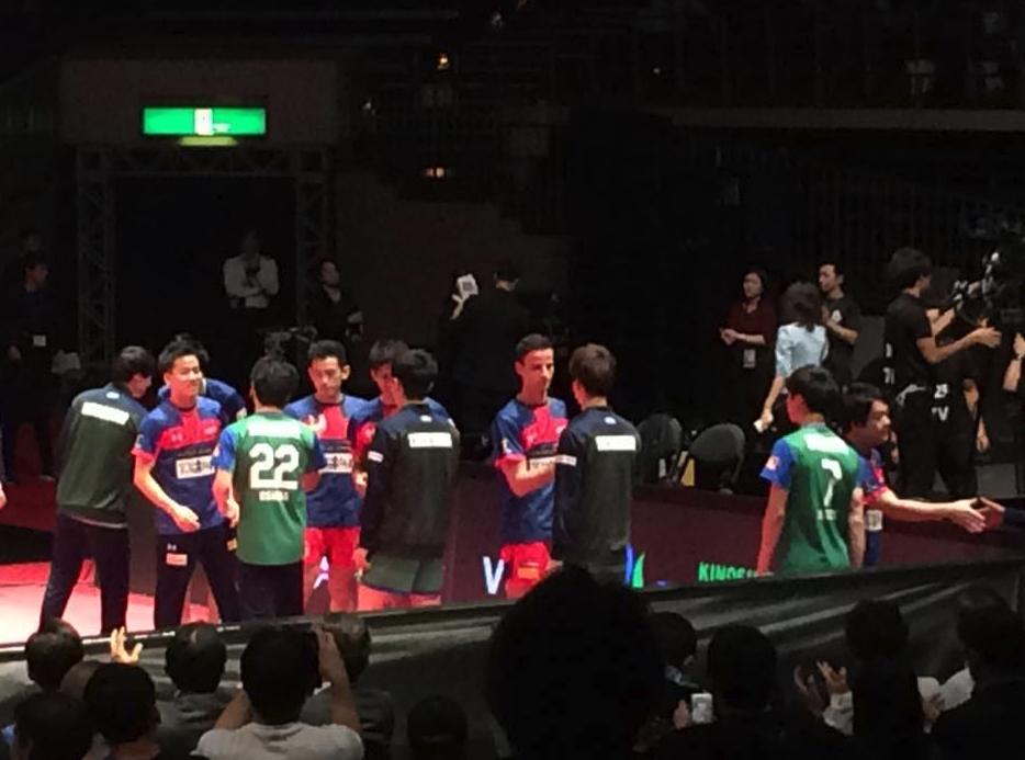 木下マイスター東京とT.T彩たまの凄いプレーに拍手
