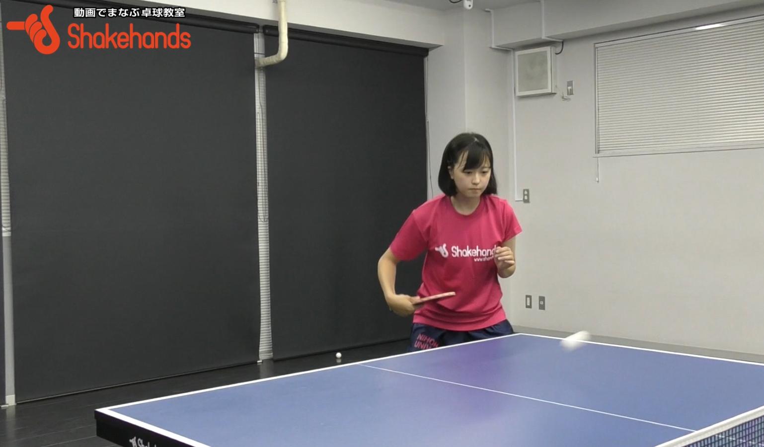【平岡義博】特別レッスン、受付中! 台上ボールを得意に!