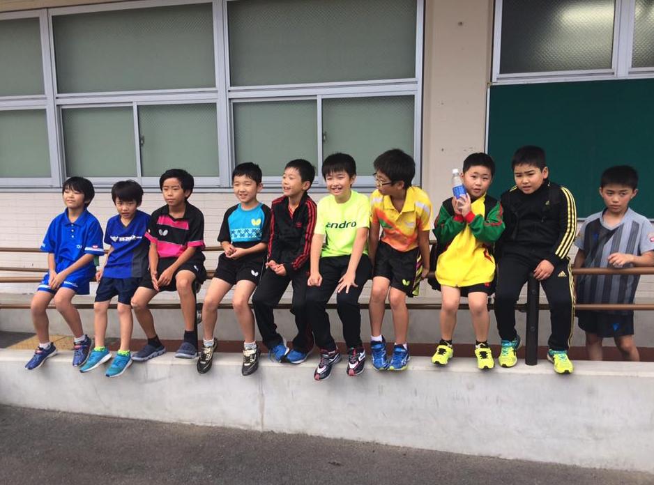 日本卓球協会からのパスウェイ事業スタッフ