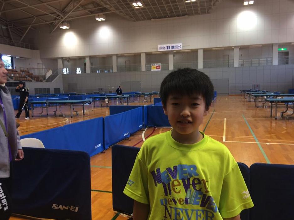 日本を代表する卓球選手になる
