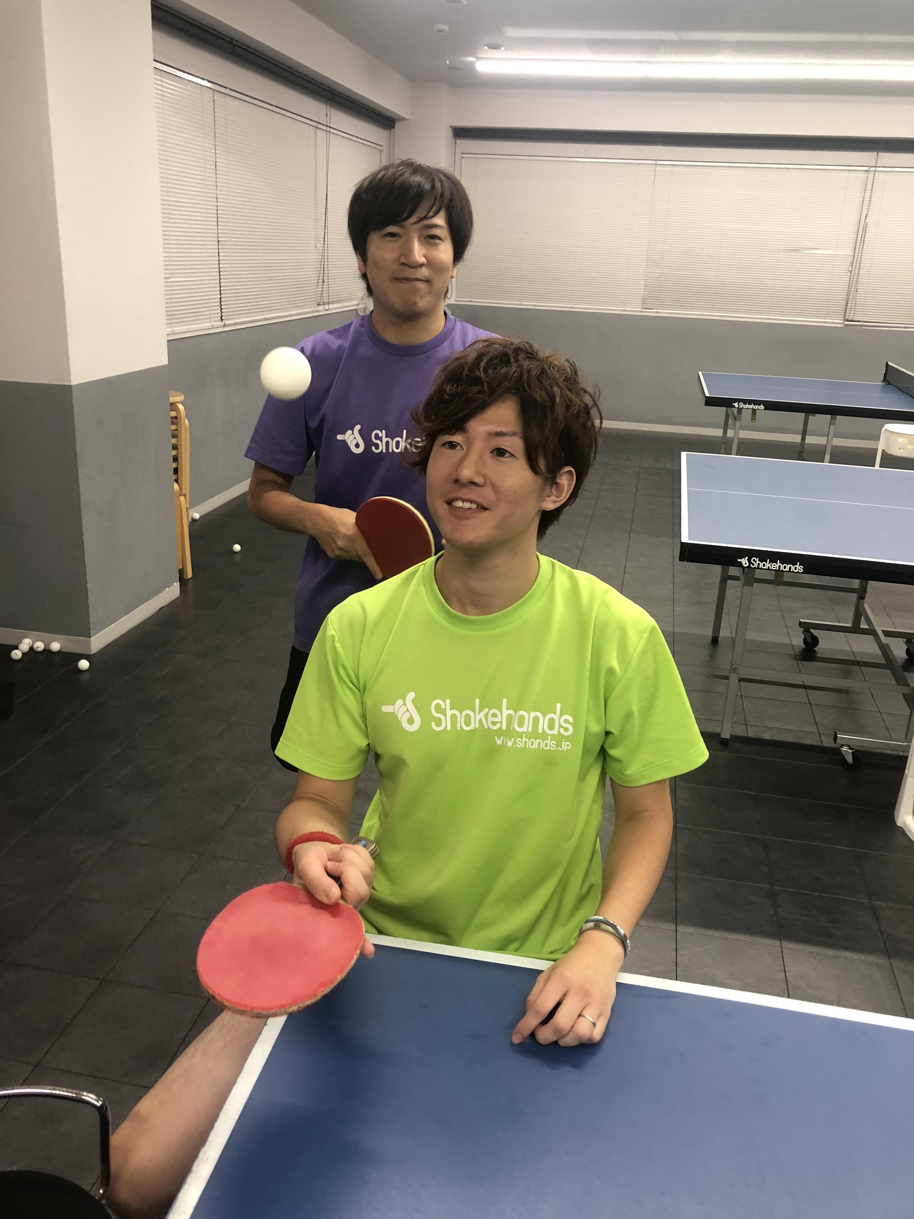 初級者教室開講!初めて卓球したい方オススメ!