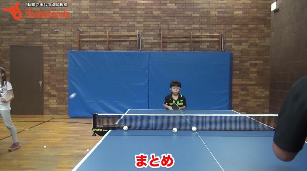 8分で身につくスマッシュ。短いボールをミスしない! by板垣孝司_表紙