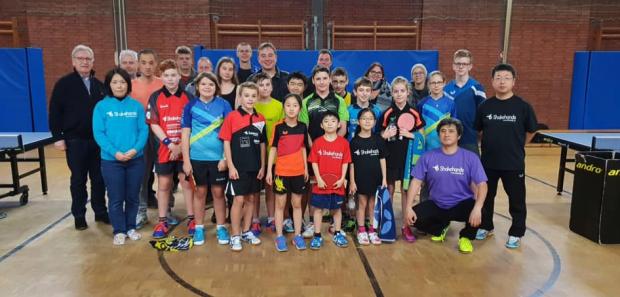 【動画付】3日間のドイツ卓球講習会での子供たち