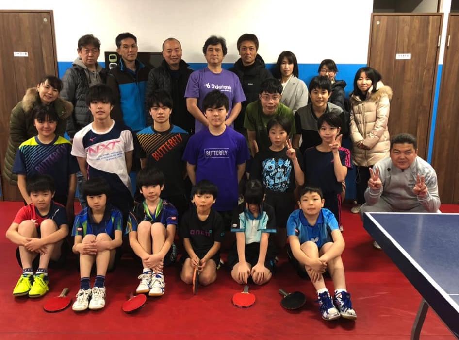 M I 青春卓球の練習場