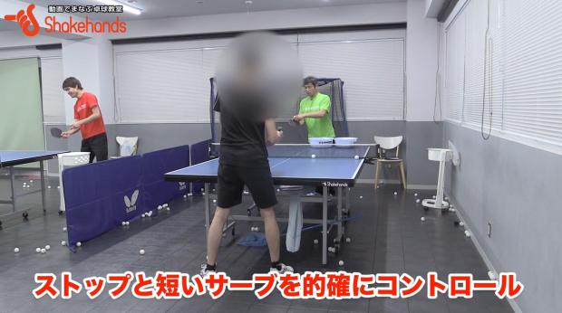 平岡義博のストップとサーブ!手首を使わなくても切れる_表紙