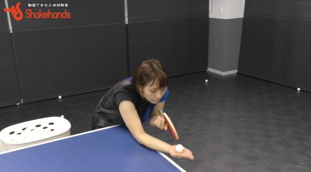 前田美優の順横回転サーブ!ボールの当てる位置で回転変える_表紙