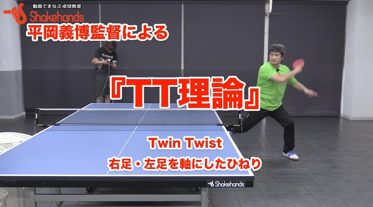 【2018振り返り】平岡義博のTT理論。パワーある重いボールを打つ