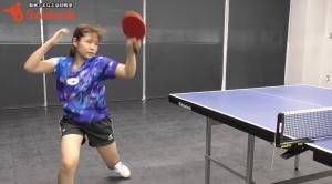 【2018振り返り】梅村優香!変化系卓球で相手を振り回す