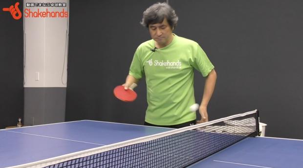 平岡義博の卓球入門。ボールに回転をかけてみる_表紙