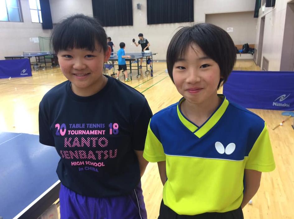 全国高校卓球選抜のシングルスでベスト16
