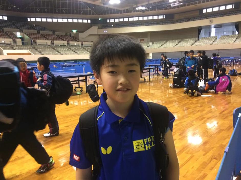 身体の大きい格上の6年生に卓球で競り勝ったのは嬉しい
