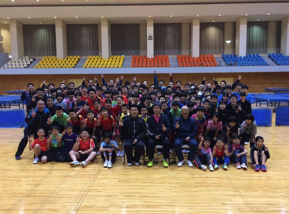福井ジュニアクラブ合宿に卓球講師として行って来ました