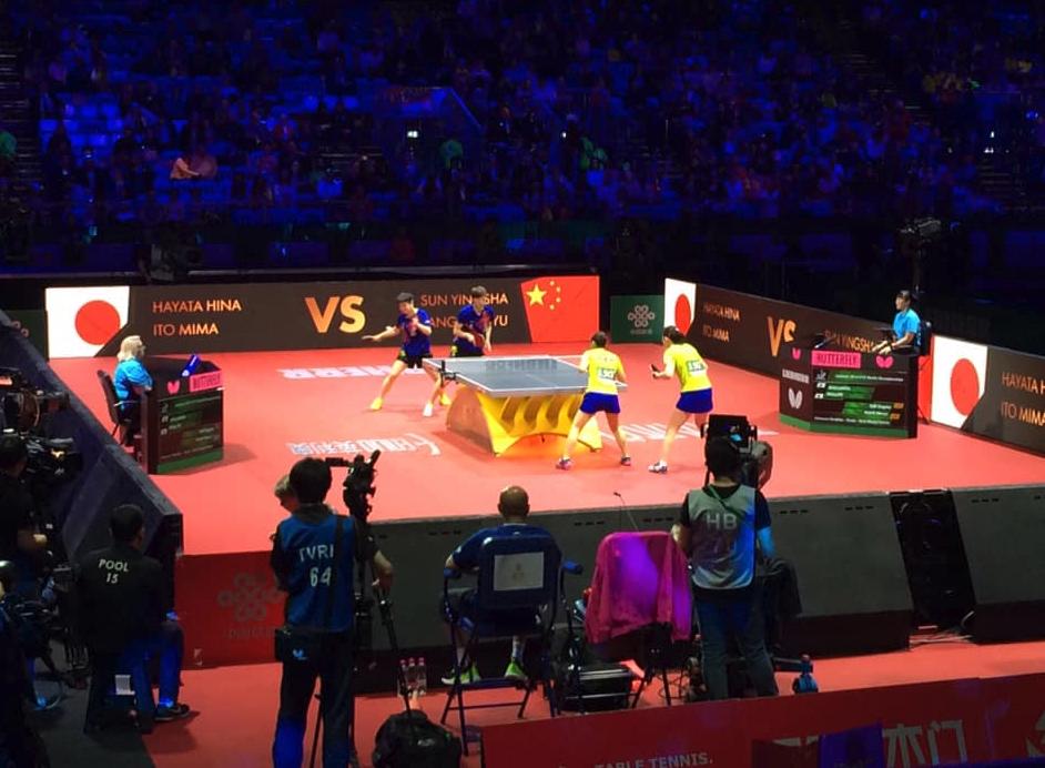 世界卓球女子ダブルス決勝戦誤審とダブルスペアの在り方