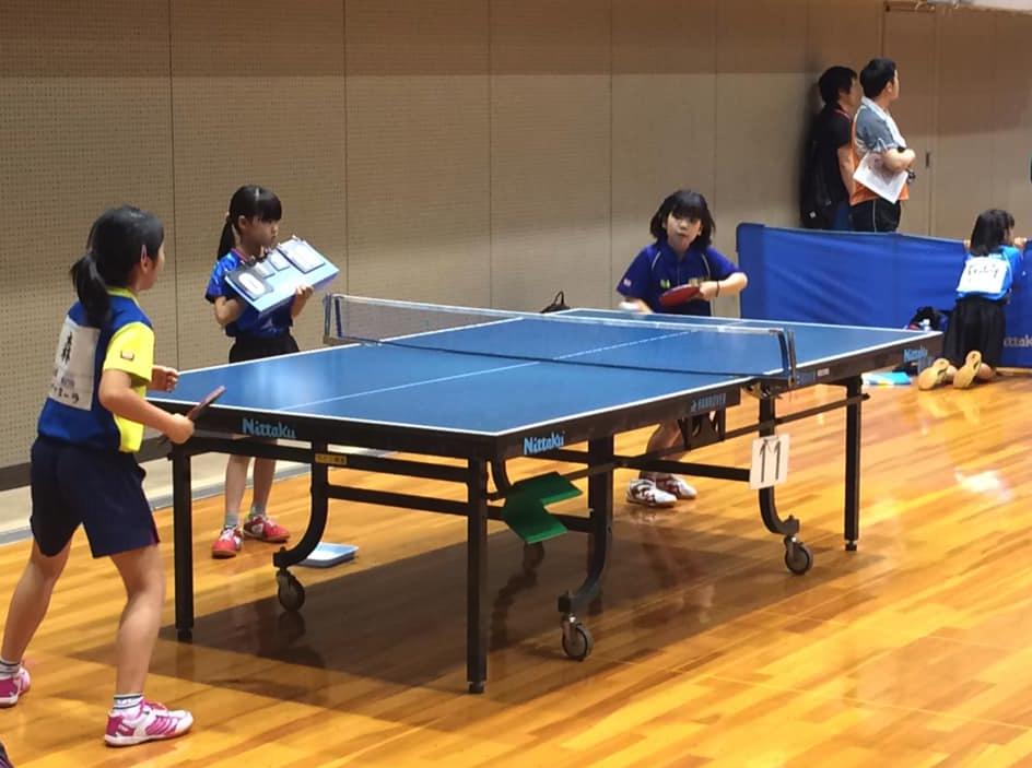 世界選手権横浜大会記念卓球大会に出場