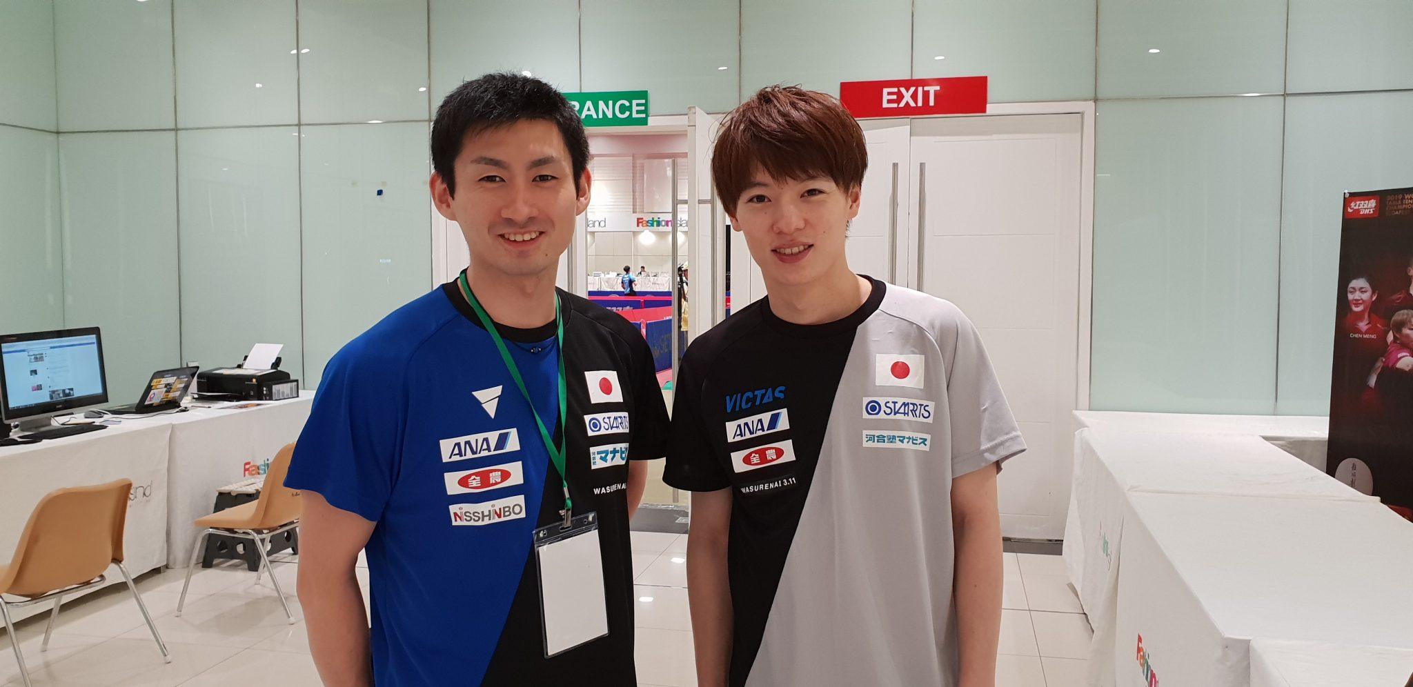 【ITTF ワールドツアー タイオープン】明日から決勝トーナメントです。