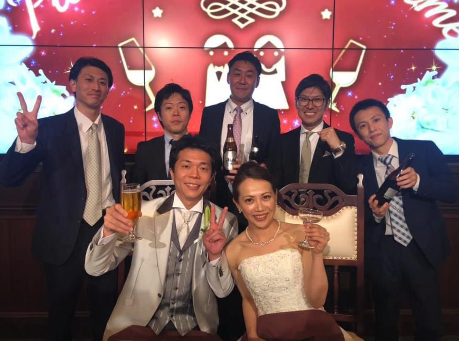 大学監督時代の学生だった山本裕介君が結婚