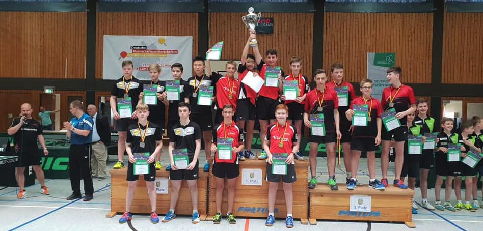 板垣監督が指導するクニックスホーヘンが優勝して全ドイツ制覇