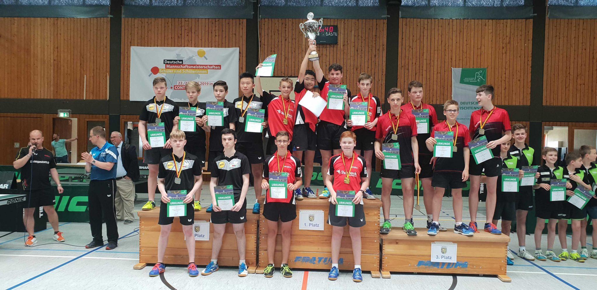 【祝!】クニックスホーフェンジュニアチームが全ドイツチャンピオンに輝く!