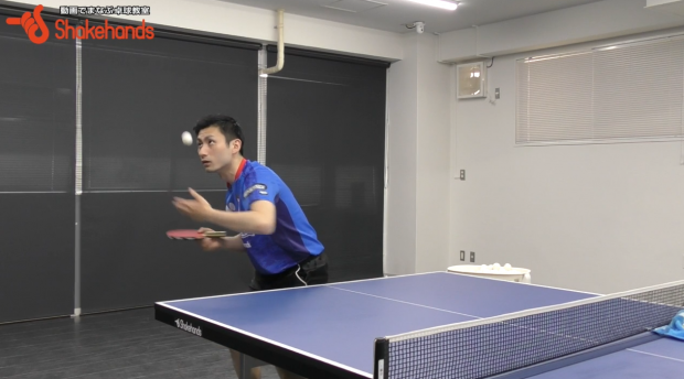 【上田仁】ダブルスのサーブ!パートナーが3球目できる_表紙