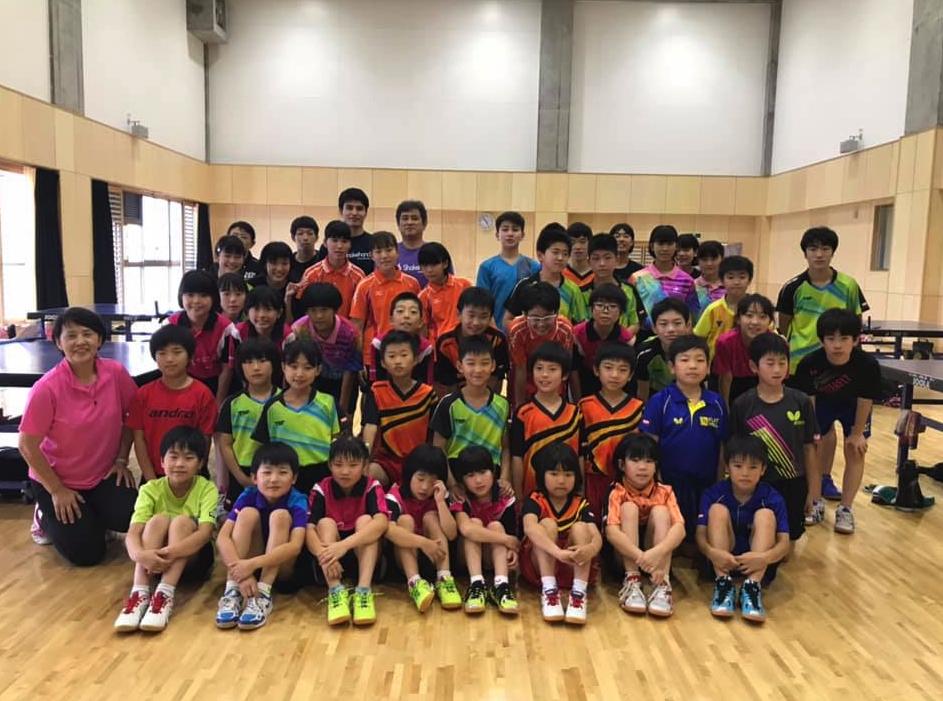 【相模原ジュニア】と【平屋TTC】と【FLATHILL】の合同卓球練習会