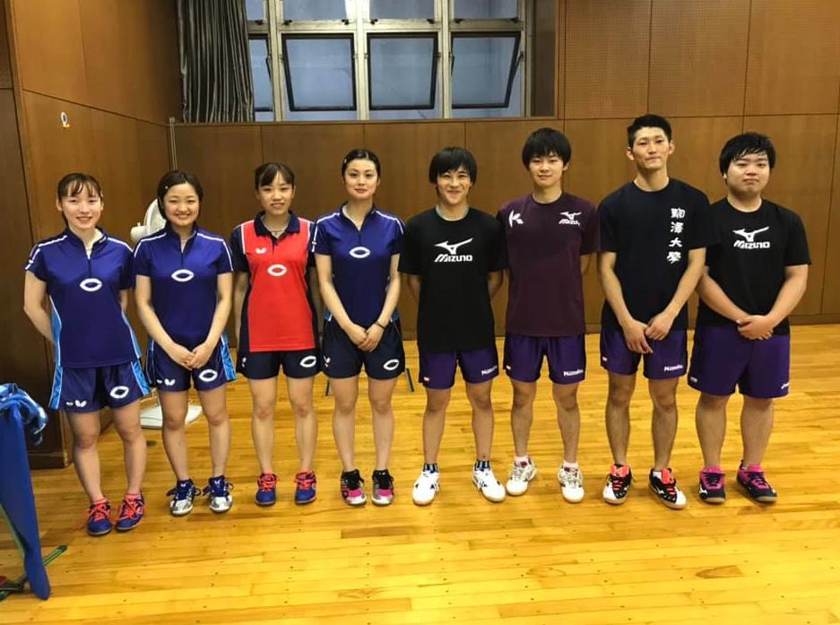 駒澤大学、中央大学学生がコーチ