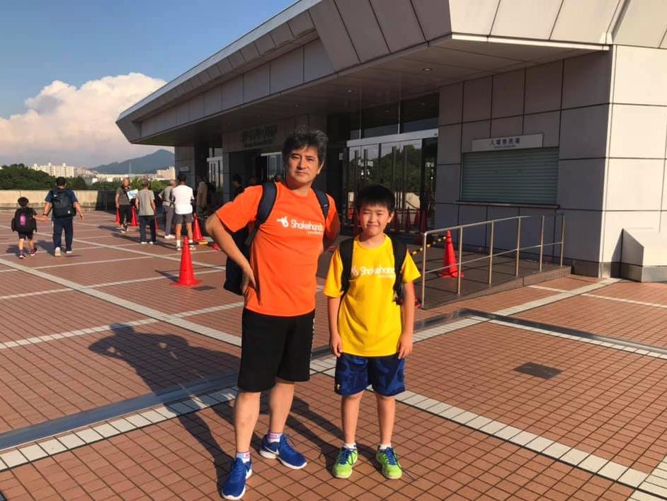 全日本ホカバ 外の暑さ以上に会場内は熱気に溢れています