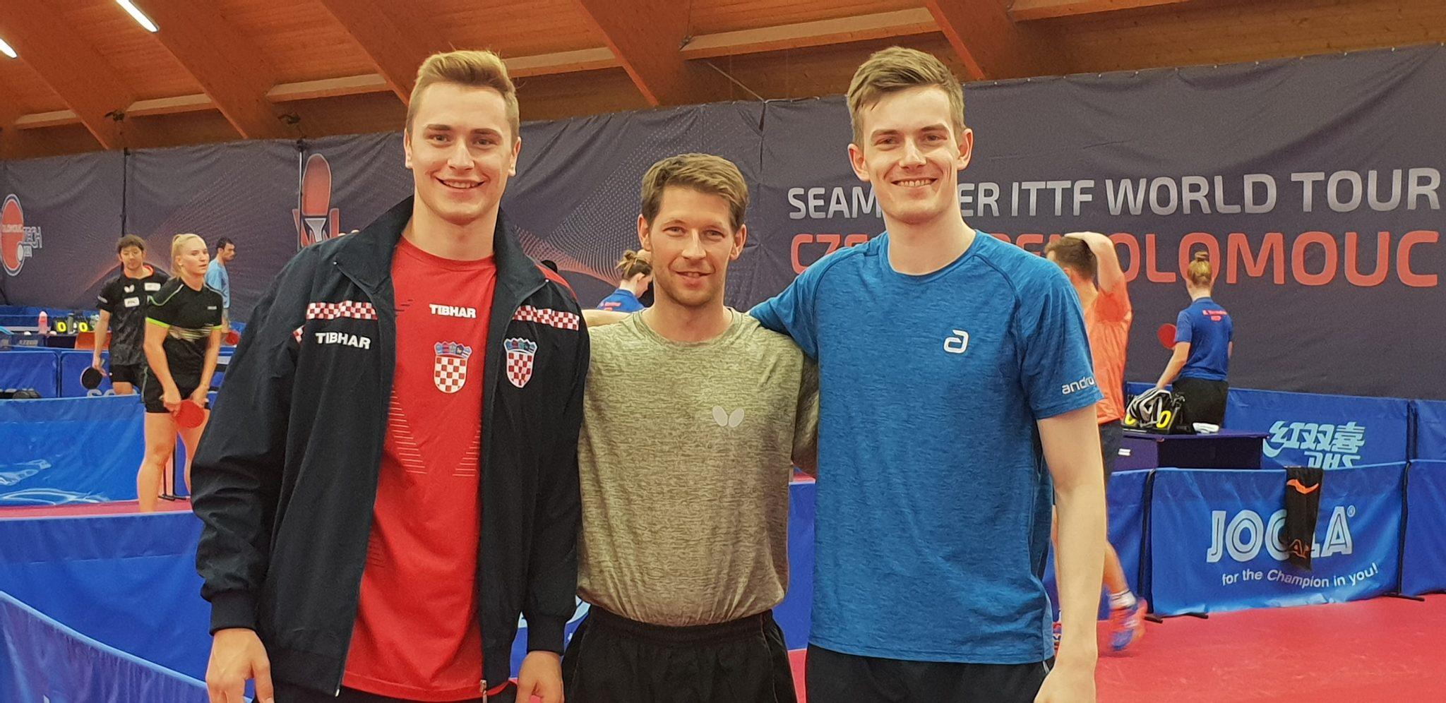 ITTFワールドツアー チェコオープン到着!