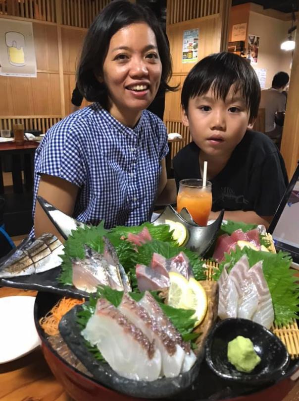 日本のお爺さんとお婆ちゃん気分
