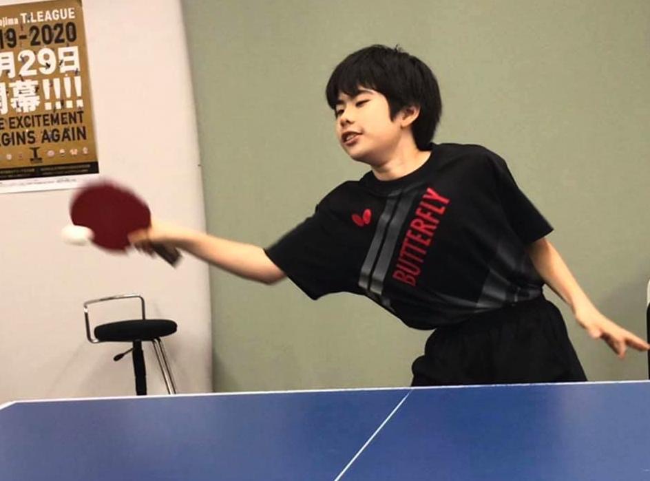 卓球に於いては、 『先見の明』があることが強味